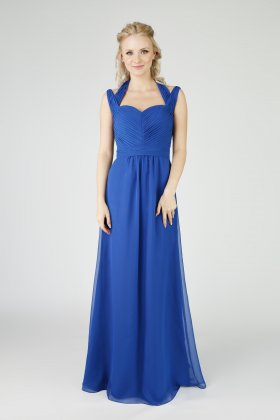EB 7510 bridesmaid dress royal blue front